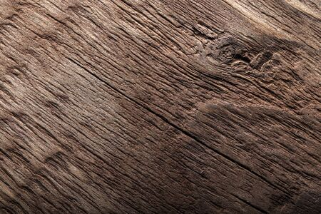Surface of old textured wooden board for background.