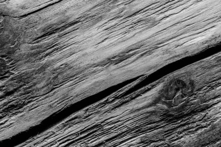 Surface of old textured wooden board for background. Toned. Standard-Bild - 133908246