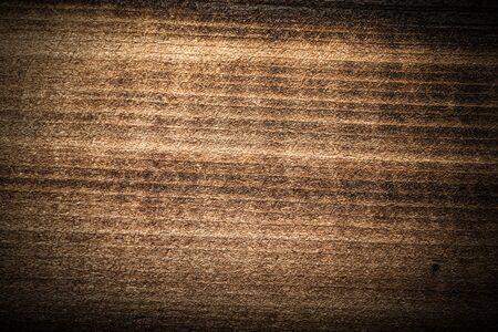 Surface of old textured wooden board for background. Toned. Standard-Bild - 133908274