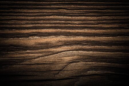 Surface of old textured wooden board for background. Toned. Standard-Bild - 133908345