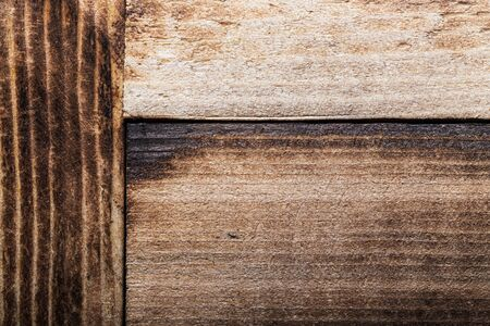 Surface of old textured wooden board for background. Standard-Bild - 133908359