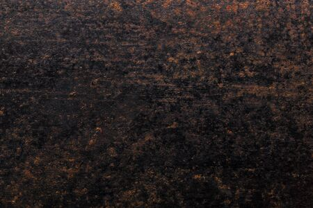 Abstract pattern of rust on old metal textured surface for background.