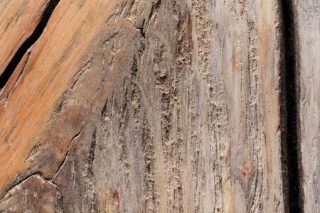 Surface of old textured wooden board for background. Standard-Bild - 133908398