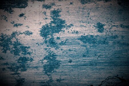 Abstract pattern of rust on old metal textured surface for background. Toned. Standard-Bild - 134726766