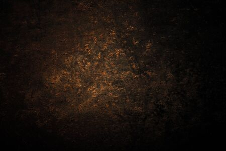 Abstract pattern of rust on old metal textured surface for background. Toned. Standard-Bild - 134726910