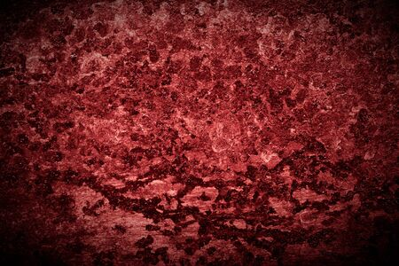 Abstract pattern of rust on old metal textured surface for background. Toned. Standard-Bild - 134727410