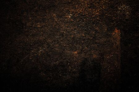 Abstract pattern of rust on old metal textured surface for background. Toned. 版權商用圖片