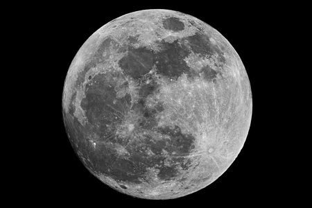 moonshine: Full Moon Stock Photo