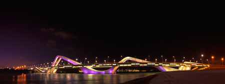 sheik: Sheik Zayed Bridge, Abu Dhabi UAE