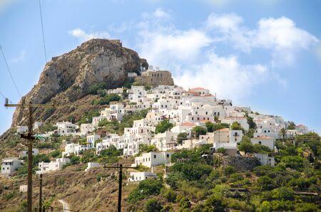sporades: The town of Skyros island ,Sporades, Greece Stock Photo