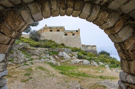 Historical Palamidi Fortress in Nafplion, Argolis - Greece Reklamní fotografie