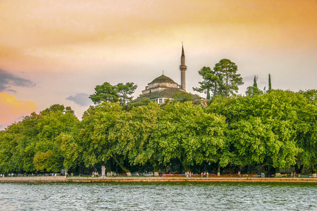 The Aslan Pasha Mosque is an Ottoman-built mosque in the city of Ioannina, Greece
