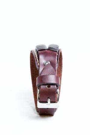 Leather bracelet accessory photo