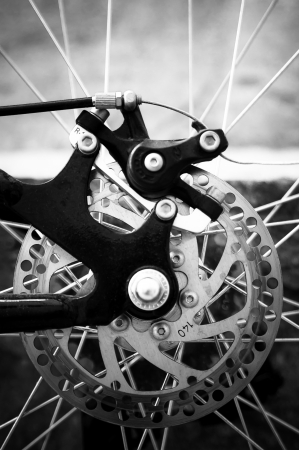 Brake system of a bicycle photo