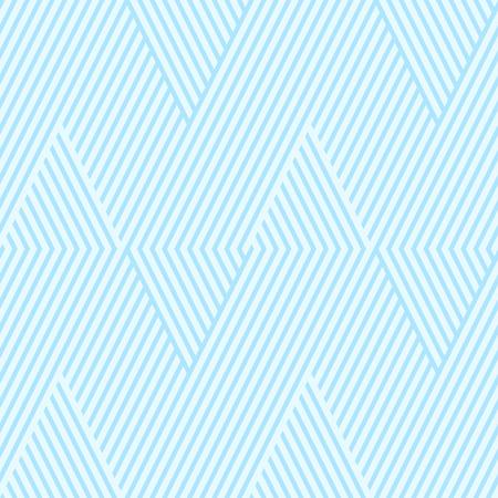 Colori a strisce blu senza soluzione di continuità due colori tono. Vettore di sfondo astratto Chevron stripe.