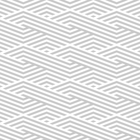 grey background texture: Pattern stripe seamless gray and white colors. Wave pattern stripe abstract background vector. Illustration