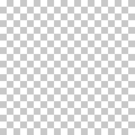 Checkered pattern seamless white and gray colors. Transparent background vector