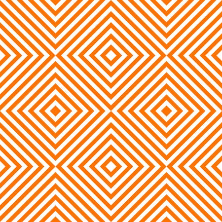 Pattern stripe seamless orange and white colors. Chevron stripe abstract background vector. Stock Illustratie