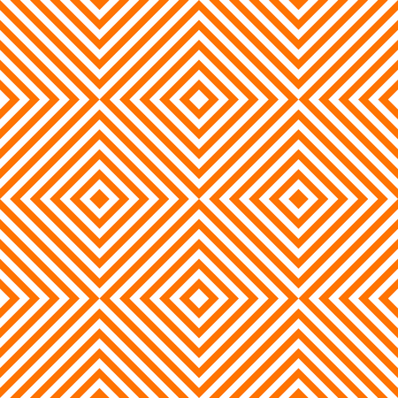 Pattern stripe seamless orange and white colors. Chevron stripe abstract background vector. Иллюстрация