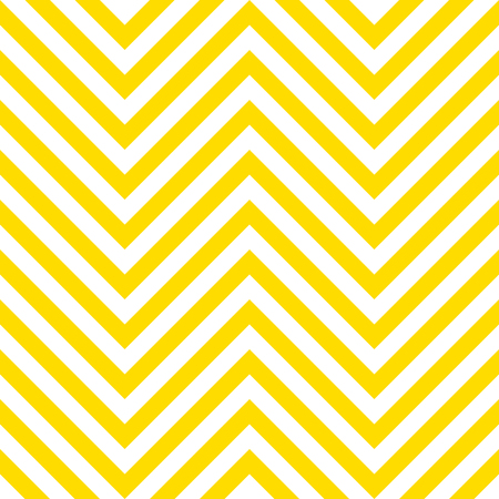 Summer background chevron pattern seamless yellow and white. Illustration