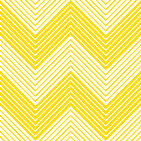 Summer background chevron pattern seamless yellow and white. Stock Illustratie
