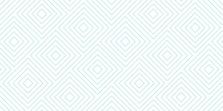 Backgrounds pattern seamless geometric white diagonal square abstract and green aqua line vector design. Pastel color background. Stock Illustratie