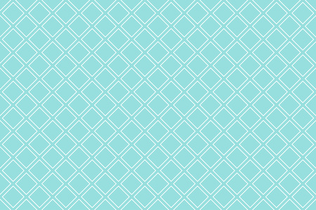 Backgrounds pattern seamless geometric green aqua diagonal square abstract and white line vector design. Pastel color background Illustration