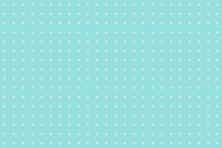 Backgrounds pattern seamless white flower abstract on green aqua background vector design. Pastel color background Illustration