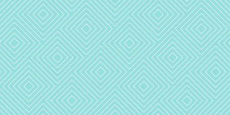 Backgrounds pattern seamless geometric green aqua diagonal square abstract and white line vector design. Pastel color background