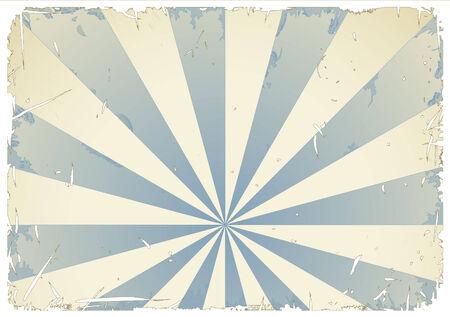 anime: resumen grungy retro fondo en azul y crema - blanco grunge  marco se puede quitar