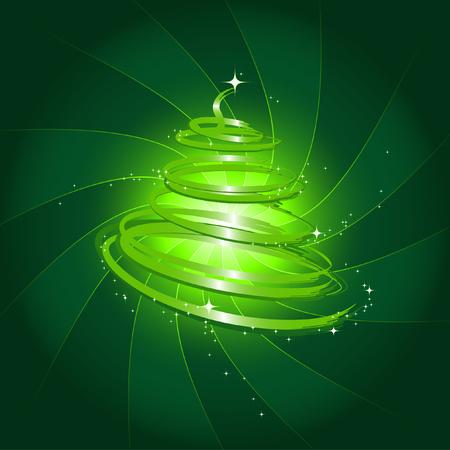 arbre de No�l magique Illustration