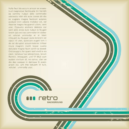 retro background with copyspace for your text Stock Vector - 3781545
