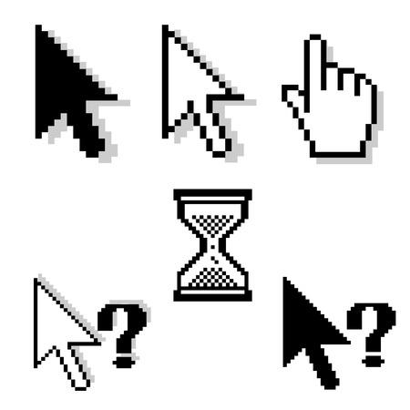 ensemble de pixel-coureurs Illustration