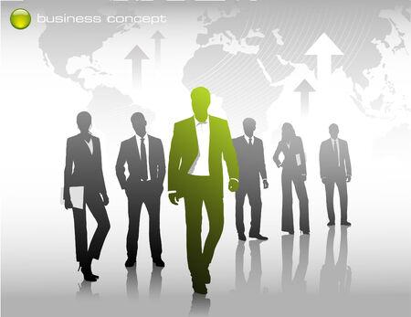 business concept: denk anders, als een innovator