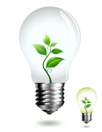 eco concept: renewable energy Stock Vector - 4636884