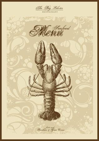 menu series: fish and seafood Stock Vector - 5785218