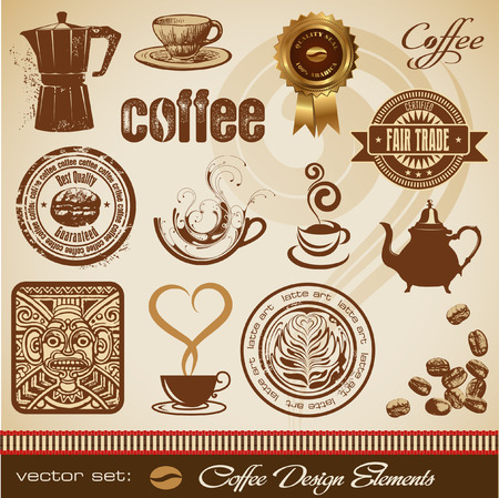coffee maker: coffee design elements