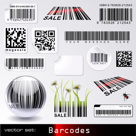 barcodes Stock Vector - 6538711
