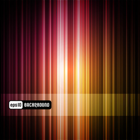 colorful striped abstract background (panel is removable)  Stock Illustratie