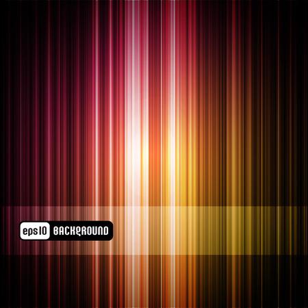 rayures color�es arri�re-plan abstraite (panneau est amovible)  Illustration
