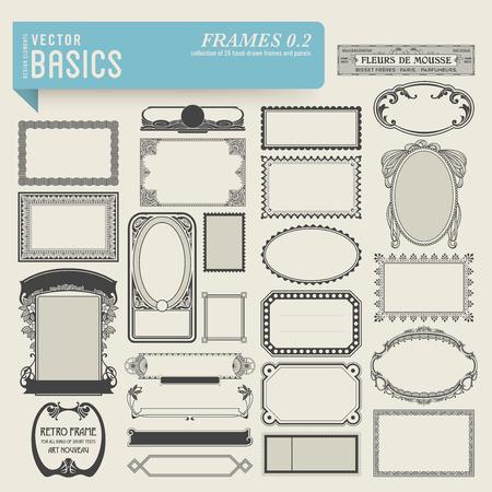 vector basics  frames  2  Ilustração