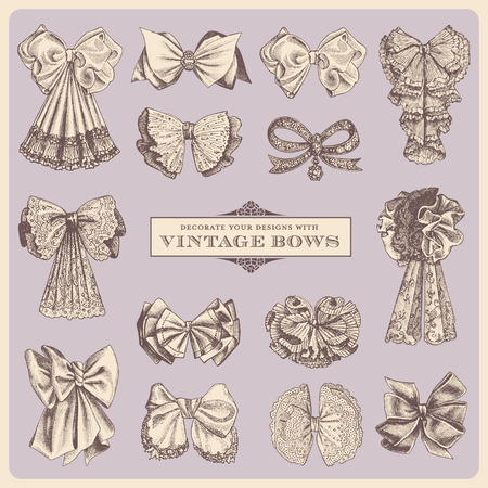 vintage bows