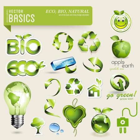 基礎エコ ・ バイオ デザインの要素