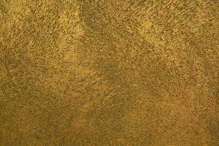 Dekorativer Stuck mit beige Textur an der Wand - Hintergrund