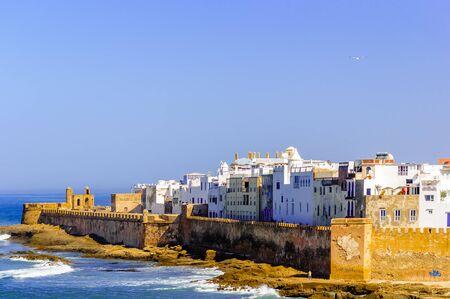 View of cityscpe of Essaouira in Morocco