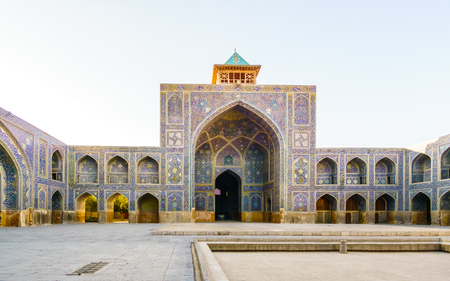 safavid: View on Shah Mosque in Isfahan, Iran