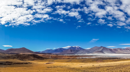 View on Altiplano Lagoon Salar de Talar in Chile by San Pedro de Atacama Reklamní fotografie