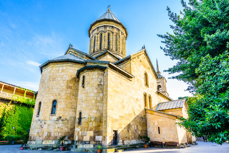 Sioni cathedral in the old city of Tbilisi in Georgia