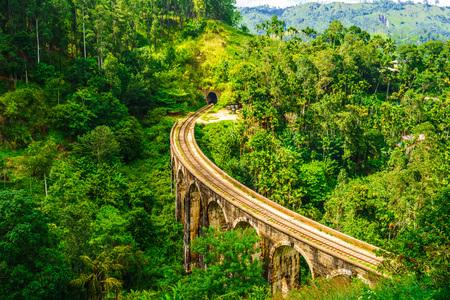 Nine Arches Bridge in Sri Lanka, Ella