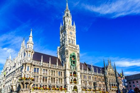 Town hall in the center of Munich, Germany Stockfoto